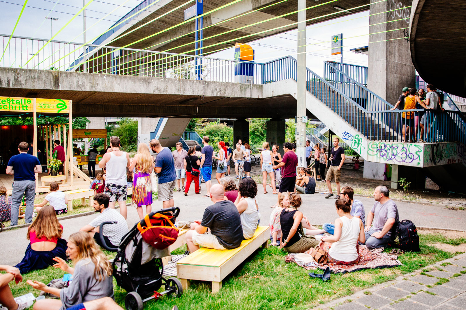 Sonntag Eröffnung Copyright Alexander Münch Haltestelle Fortschritt1